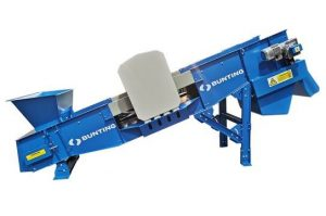 Shredder Feeder Conveyor-Bunting-Magnetic Separation-Metal Detection