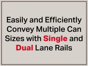 Single and Dual Lane Rails-Magnetic Rails-Magnetic Separation-Bunting-Newton