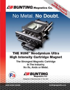 NUHI-brochure-NUHI Neo High Intensity Magnetic Cartridges-Magnetic Separation-Bunting Magnetics-Newton, KS