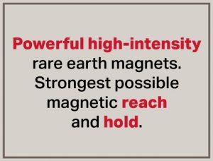 Potencia de alta intensidad-Imanes de cuña-Separación magnética-Bunting-Newton