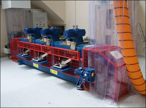 Magnetic Disc Separator 1-Bunting-Magnetic Separation-Mining-Aggregates-Minerals
