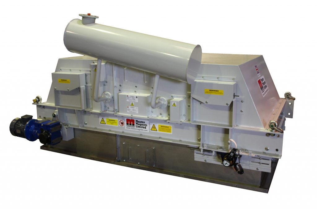 Electro Crossbelt Magnetic Separators-Crossbelt Magnets-Bunting-Magnetic Separation-Mining-Aggregates-Minerals