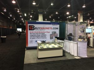 Sensors Midwest 2018 Expo-BuyMagnets.com-Bunting Magnetics-Rosemont, IL