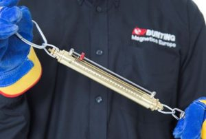 Pull Test Kit Spring Balance-Practically Measuring Magnetics Separator Strength-Bunting Magnetics