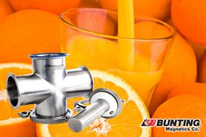 CR-MLT and Citrus-Magnetic Liquid Traps Keep Orange Juice Safe-Magnetic Liquid Traps-Bunting Magnetics-Newton, KS