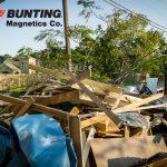 El equipo de separación magnética ayuda a la recuperación ante desastres-Bunting Magnetics Co-Newton KS