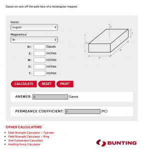 Field_Calculator-Bunting Magnetic Calculators Provide Design Assistance-Bunting-Elk Grove Village