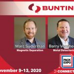 Barry Voorhees and Marc Suderman-Bunting to Exhibit at Pack Expo Connects-Magnetic Separation-Metal Detection