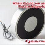 Cuándo necesita electroimanes-Bunting-Elk Grove Village-Buymagnets.com