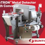 La detección de metales meTRON ™ es esencial para el procesamiento de alimentos-Bunting-Newton