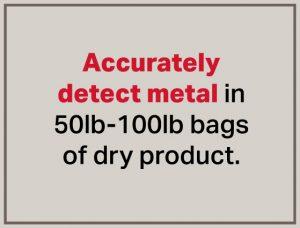 Detector de metales de bolsa de detección precisa, el meTRON ™ 07 CI -Bunting-Newton